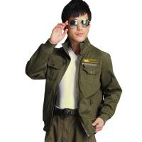 男装军迷户外服装军绿色工装休闲外套8659 军绿色