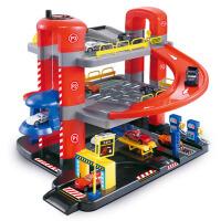 小汽车停车场玩具套装多层男孩模型场景玩具大型儿童合金轨道
