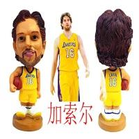 全篮球球星人偶模型玩偶摆件手办公仔韦德詹姆斯库里科比生日礼物车饰品 格里芬新款20CM