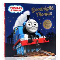 英文原版绘本Thomas and Friends托马斯和他的朋友们系列Goodnight Thomas晚安托马斯 儿童