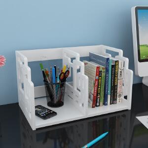 【满200减100】御目 书架 现代简易办公收纳桌面创意置物收纳架儿童学生桌上整理储物架子家具用品