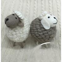 儿童摄影道具/小绵羊/毛绒玩具/创意摆件/装修摆设件/小挂件