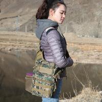 鞍袋斜挎包战术包单肩胸包户外装备军迷用品相机单反机动鞍包 20升以下