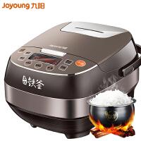 九阳(Joyoung) F-50T12电饭煲5L家用智能预约土灶铁釜IH电磁加热全自动煮饭锅