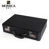 摩斯卡MONSCA手提箱PU材质商务公文箱密码箱航空箱登机箱旅行箱包503
