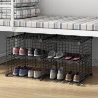 【一件3折】多层鞋架简易家用鞋柜经济型省空间家里人仿实木色门口小鞋柜宿舍
