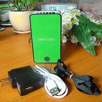 迷你空调USB制冷便携学生宿舍小电扇办公迷你可充电无叶风扇