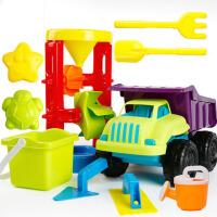 儿童沙滩户外玩具沙子套装车挖沙铲子宝宝沙漏戏水工具