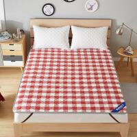 海绵床垫保护垫薄防滑床护垫子夏季透气纯全棉可折叠水洗棉铺床褥