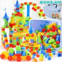积木拼装玩具益智2岁宝宝三四儿童智力3多功能动脑启蒙女孩
