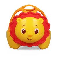 婴幼儿玩具 小狮子声光摇铃玩具宝宝儿童益智早教礼盒装生日礼物 狮子声光软胶球