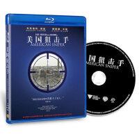 美国狙击手 正版高清蓝光电影碟片BD50 欧美电影盘 战争片