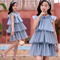 女童连衣裙夏季儿童连衣裙女童公主裙子洋气童裙
