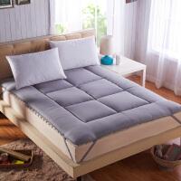 榻榻米床垫1.5米学生单双人宿舍加厚床褥1.8m床海绵垫被垫子 MB-面包灰色