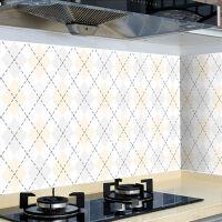 厨房防油贴纸防污瓷砖�萏ǔ鞴裼脱袒�耐高温油烟贴浴室防水墙壁纸
