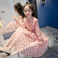 女童连衣裙春装儿童女孩长裙大童裙子