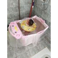 宝宝沐浴桶儿童洗澡桶加厚塑料可坐保温加大号婴幼儿小孩泡澡桶盆