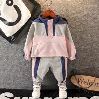 宝宝秋装运动套装男童秋季卫衣裤子两件套小童童装