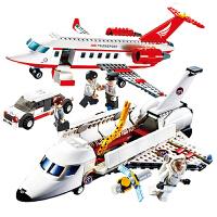 儿童10拼装玩具男孩子12岁智力legao积木6航天飞机火箭7模型8