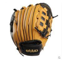 撞色精致耐磨耐用运动棒球手套左右手棒球用手套棒球手套成人投手手套
