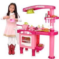 儿童过家家玩具套装 厨房厨具玩具 益智多功能餐具台 女孩玩具