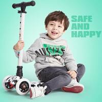 儿童滑板车小孩摇摆溜溜车3-6-12岁玩具四轮闪光宝宝滑滑车