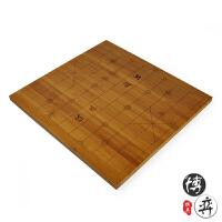 2cm楠全竹刻线中国象棋盘 可选5.0/6.0规格大号象棋盘 背面围棋盘