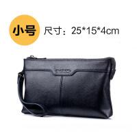 新款真皮手包男大容量商务信封包潮流韩版时尚休闲男士手拿包头层牛皮