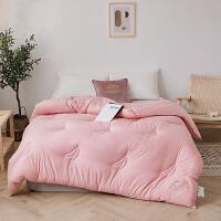 伊迪梦家纺 大豆纤维被 纯色冬被加厚保暖被子被芯单人双人床PV1035