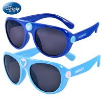 迪士尼儿童太阳镜男童墨镜 学生防紫外蛤蟆镜太阳眼镜偏光太阳镜