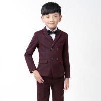 韩版钢琴演出服花童礼服 儿童西装 男童西装套装儿童小西服外套男