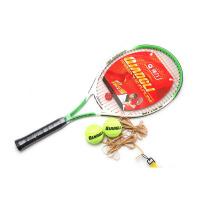 强力 网球拍 网球回弹器一套 单人训练拍 初学者适用 强力631B