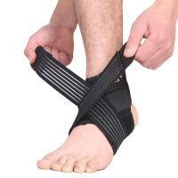护踝运动男篮球足球防扭伤护脚腕绷带加压缠绕护脚踝护具
