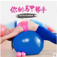 运动瘦身健身球初学者女按摩瑜伽球加厚防爆儿童孕妇瘦身减肥运动套装组合