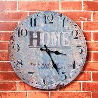 美式复古壁挂家居客厅店铺创意钟表墙面墙上墙壁挂件软装饰品墙饰
