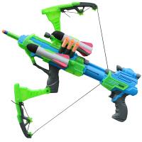 男孩可发射礼物儿童玩具枪手动软弹枪