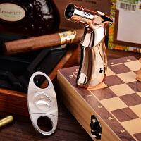 雪茄剪雪茄剪德国克虎伯不锈钢锋利刀刃便携式精美包装礼盒雪茄剪刀v型