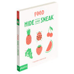 Food Hide and Sneak 食物捉迷藏 英文原版儿童艺术启蒙 3-6岁