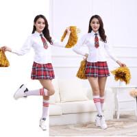 啦啦操服装啦啦队服足球宝贝服健美操服装拉拉团体比赛舞蹈演出服