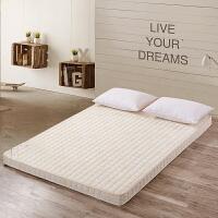 记忆棉床垫榻榻米床垫子海绵1.5m1.8m单人学生宿舍折叠加厚床褥子