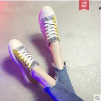 优雅帆布鞋女学生韩版女生流行百搭帆布鞋韩版ulzzang小白鞋