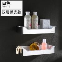 免打孔 304不锈钢淋浴房浴室置物架卫生间壁挂墙上转角架卫浴网篮