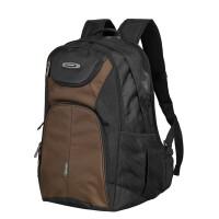 大容量户外旅行背包男撞色双肩包女电脑包旅游双肩背包fjt 咖啡