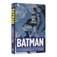 Batman-A Celebration of 75 Years 漫威Marvel漫画蝙蝠侠75周年纪念版合集英文原版