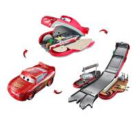 儿童玩具车轨道变形闪电麦坤昆杰克逊汽车总动员玩具男孩