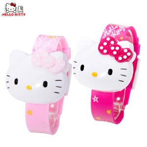 HELLO KITTY 儿童电子手表跳字表凯蒂猫儿童学生时尚童趣卡通手表HKSQ98070