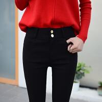 春秋新款打底裤外穿大码女裤显瘦长裤黑色小脚裤实拍现货