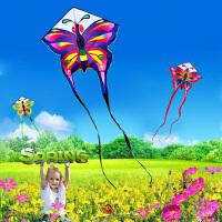 长尾孔雀蝴蝶风筝 微风起飞绚丽多彩