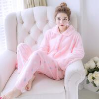 秋绒女士睡衣家居服新品可爱女式睡衣套装