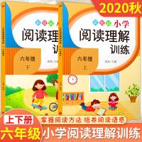 六年级阅读理解训练 语文 人教版 六年级上册+下册小学生阅读训练